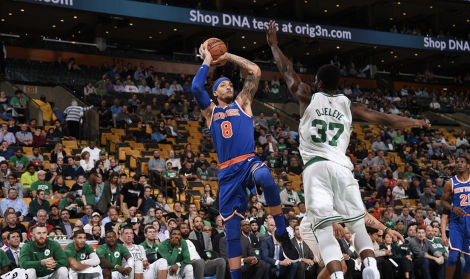 The Knicks VS The Boston Celtics