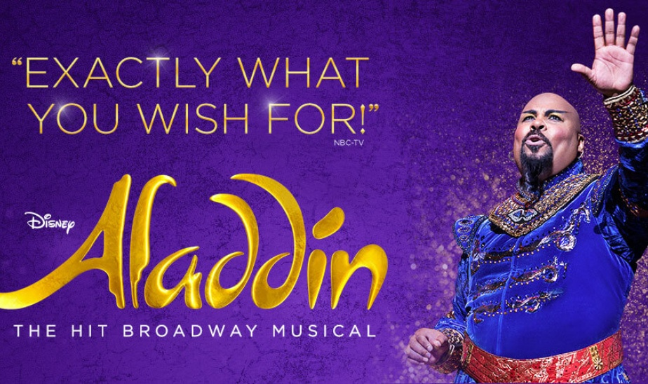 Aladdin on Broadway 7/13 2pm