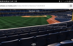 Sale- Yankees Tickets- Wed.July 4th